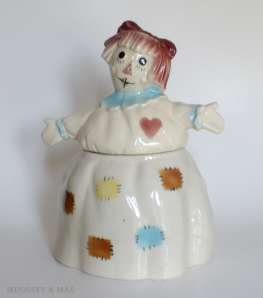 Raggedy Ann by Brush Pottery Co.